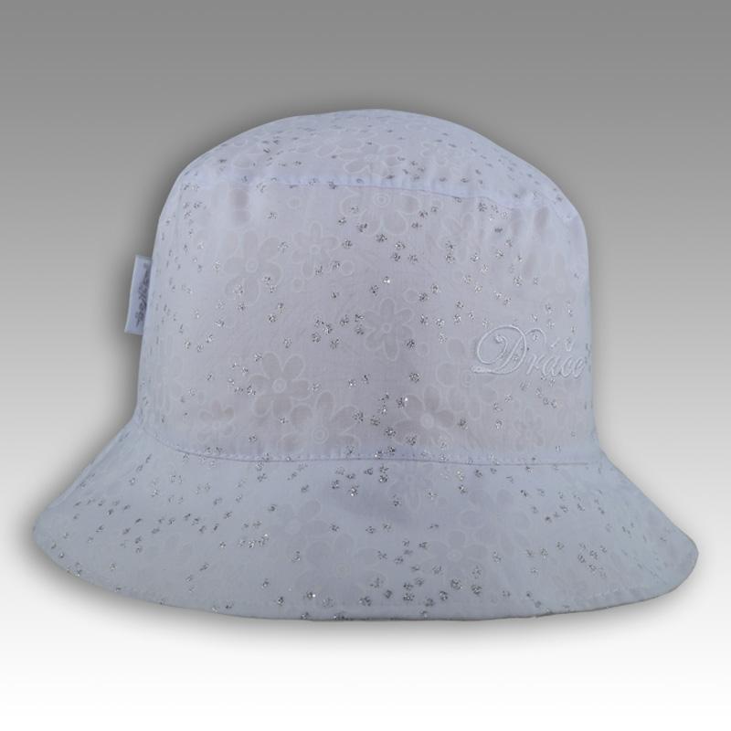 14539bd1647 Letní klobouk Dráče vel. 50-52 - Hawai (bílo-stříbrný 23) empty