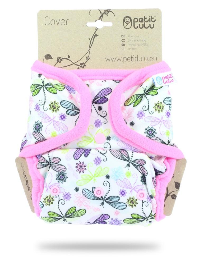 Svrchní kalhotky (SIO) Petit Lulu PAT - Vážky (růžová) empty ca522e2ac9